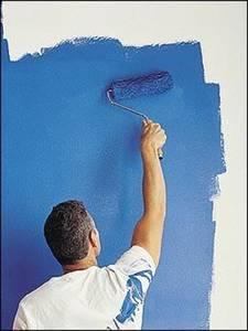 Окраска стен в квартире