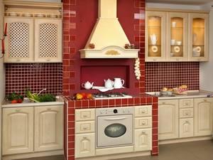Тепло и уют с красивой классической кухней италии