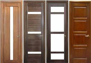 Типы филенчатых дверец