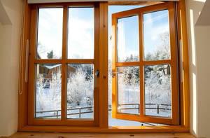 Надежные окна из лиственницы