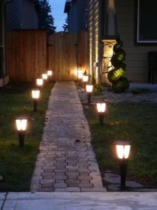 Виды садового освещения