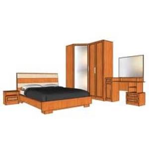 Спальный гарнитур с угловым шкафом