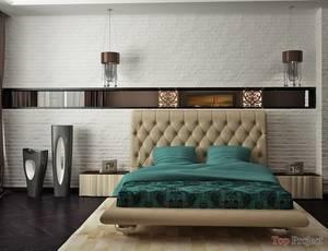 Спальня в стиле лофт: глубина пространства для сна и отдыха