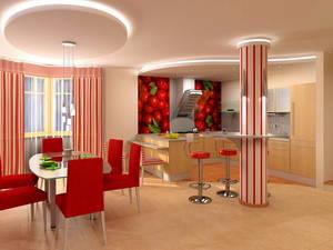 Кухня-столовая дизайн